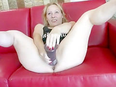 Grosse chatte mature blonde