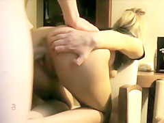 Sexy Bunny Blonde Hammered and Jizzed