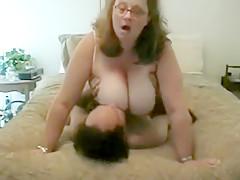 Slut With Huge Jugs Gets Dicked