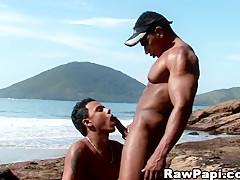Hot Ass Fucking on the Beach