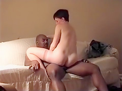Pregnant slut penetrated and creampied deep by lover's BBC