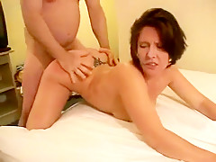 Chubby slut wife likes anal ...