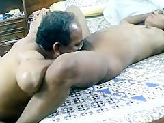 Pakistani couple having fun