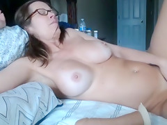 Mature with hairy pussy and ...