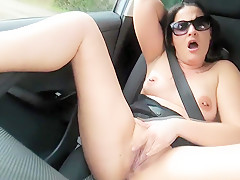 French mom masturbating and ...