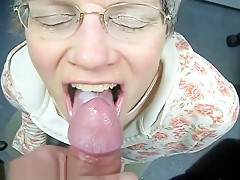 German grandma Oma loves spe...