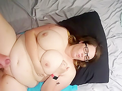 Chubby girl with big boobs f...