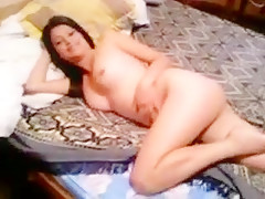 Hot naked brown haired teasi...
