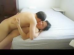 Horny homemade moan, small tits, bedroom xxx movie