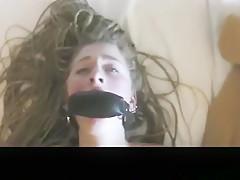 Exotic amateur teen, american, creampie porn clip