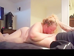 Horny homemade lingerie, blowjob, cowgirl porn clip