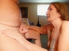 Amazing amateur fingering, cougar, riding sex movie