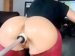 Amateur Dildo Double Penetration Sex Toy DP