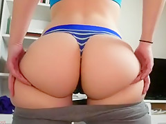Amateur brunette czech does a striptease