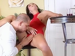 Smoking mature gets mercilessly fucked by a skillful lad