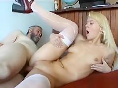 Barely legal slut loves aged man more than her coevals
