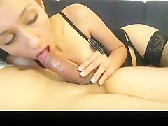 Exotic private smoking, blowjob adult scene