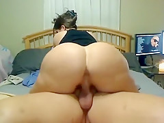 Hottest homemade hardcore, creampie, riding sex scene
