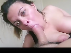 Incredible homemade doggystyle, blowjob, cum in ass xxx movie
