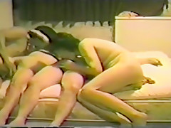 Crazy exclusive asian american girl, big boobs, moan adult movie