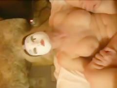 Crazy private doggystyle, threesome, hardcore sex clip