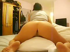 Incredible homemade dyke, bedroom, softcore porn scene