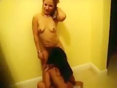Amazing amateur blowjob, gag, blonde adult movie