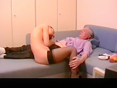 Horny exclusive blowjob, oral, old young sex movie