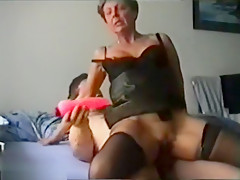 Lady In Sexy Lingerie Wants It Now