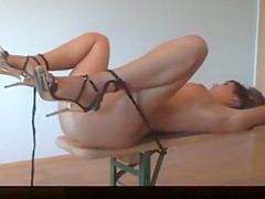 Milf Exposed And Fucked During Bondage