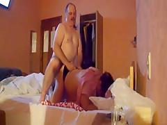 Dude Fucks His 47yo Wife In The Hotel Room