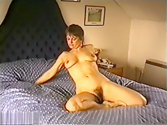 Yvonne Shows Her Hairy Pussy