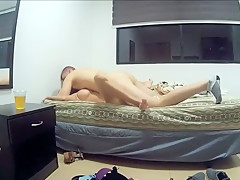 A Couple Fucks In The Bed