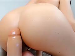 Big Ass Slut Is Jacking Off