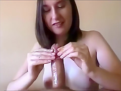 Teen Places Her Hands On Cock