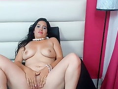 Chubby Latina Loses Her Clothes