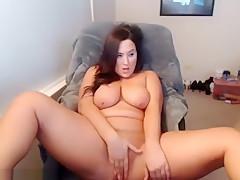 Bimbo Is Massaging Her Pussy