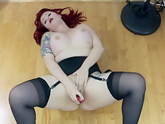 Curvy Babe Uses A Sex Toy