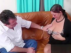 Julie showing juicy tits by DeutschePrivatvideos