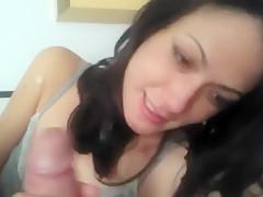Extreme Amateur POV Blowjob Video