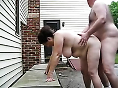 Nude party having sex