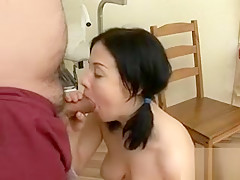 A Cock To Check The Slutty Mouth