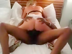 Girlfriend trips that are adult jerks down it in her mouth