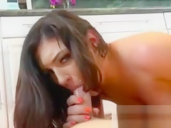 Hot GF Veronica Snow Sucks And Rides Hung BF