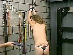 Amateur thraldom xxx pussy play with rough toys