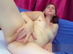 Mature whore with small tits long time no seen dick