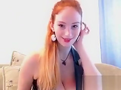 MILF Mina solo masturbation
