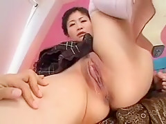 Asian blowjob masseuse babe