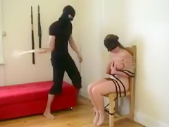 severe boobs spanking my busty Sub