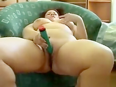Thick Girl Masturbates With Her Toy
